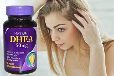 El consumo de DHEA puede hacer que el cabello se debilite y se caiga