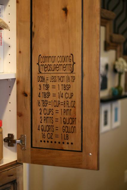 Vinyl Sticker Kitchen Measurements