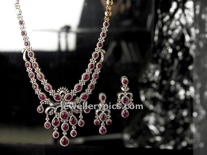 f2a04312002de dazzling Burma ruby long necklace by Tibarumal jewelelrs - Latest ...