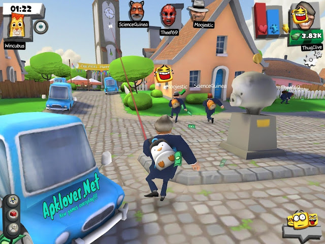 Snipers vs Thieves MOD APK high damage