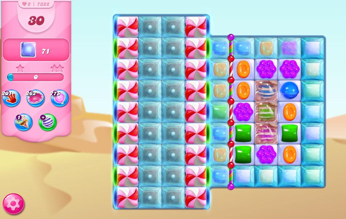Candy Crush Saga level 7322