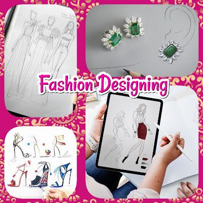 Fashion Designing,Jewelry Designing,Shoes Jewelry, Fashion, Design, Scope,Textile Designing, Fabric Designing