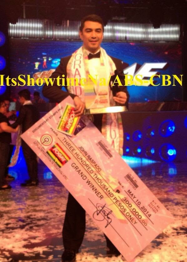 John Raspado is 'I Am Pogay' Grand Winner of It's Showtime