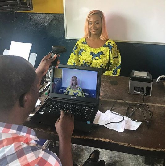 Angry Nigerian Lady Narrates How DJ Cuppy Jumped The Queue To Collect Her PVC In Lagos
