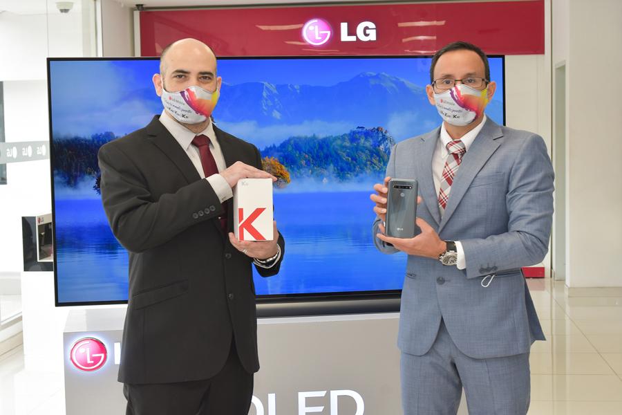La serie K de LG ofrecen características premium para los usuarios de smartphone
