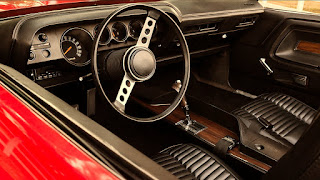 1970 Dodge Challenger RT Convertible Dashboard