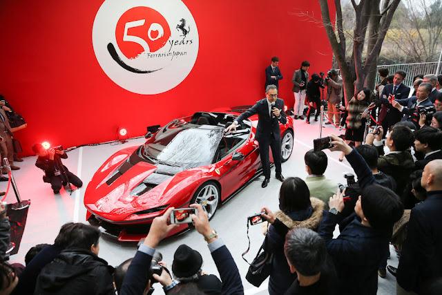 フェラーリJ50