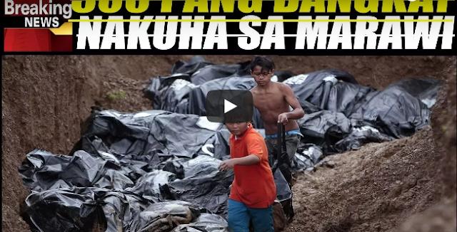 Malung-Kot Na Balita. 500 Pang Bangk-Ay Nakita Sa Ma-Ra-Wi