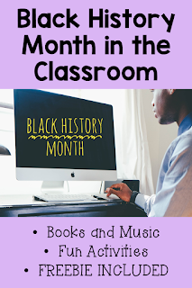 February is Black History Month. This blog post brings a roundup of resources and activities for your classroom that everyone will love! From books and music to activities and brain breaks. There is something in the blog post to meet all your students' needs. Bonus - There are a couple of freebies inside! #confessionsofafrazzledteacher {Second, Third, Fourth, and Fifth Graders}