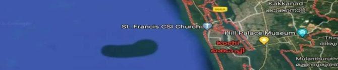 Google Maps Detects Mysterious 'Underwater Island' In Arabian Sea, Probe On