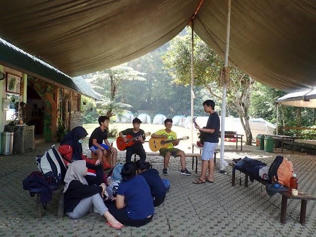 Camping di Tanakita