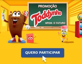 Cadastrar Promoção Apoia o Futuro Toddynho - Nova Promoção