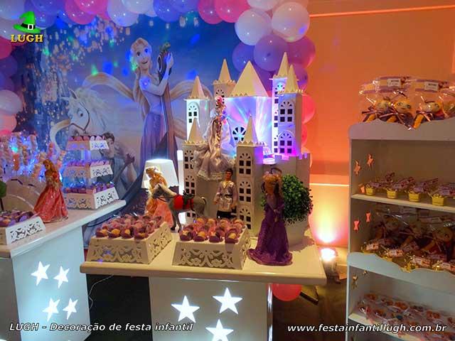 Ornamentação infantil Os Enrolados (Rapunzel) - Festa de aniversário