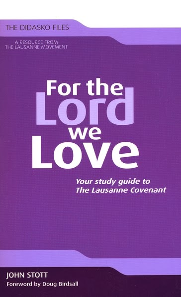 John Stott-For The Lord We Love-Study Guide-