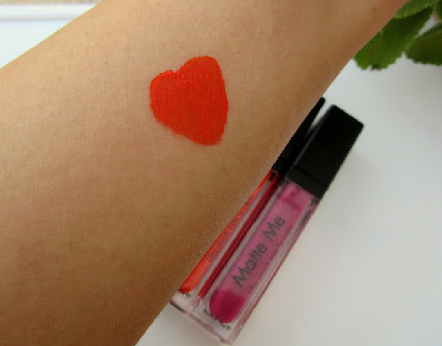 3 Beautiful Incolor Matte Me Liquid Lipstick Swatches