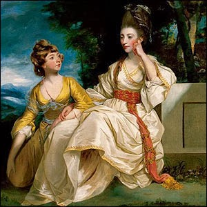 Hester Thrale with her daughter Queeney by Sir Joshua Reynolds, 1777-78