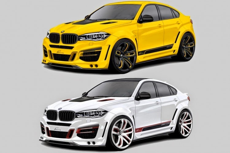 2015 Bmw X6 Tuning Program By Lumma Design Big Motoring World