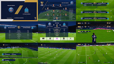 PES 2020 French Scoreboard Pack 2021 by Overall