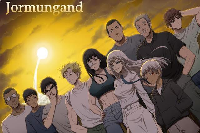 Jormugand - Anime Tentang Perang Terbaik dan Terkeren (Dari Jaman Kerajaan sampai Masa Depan)