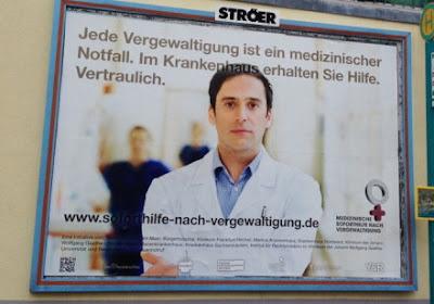 Социальная реклама: изнасилования в Германии