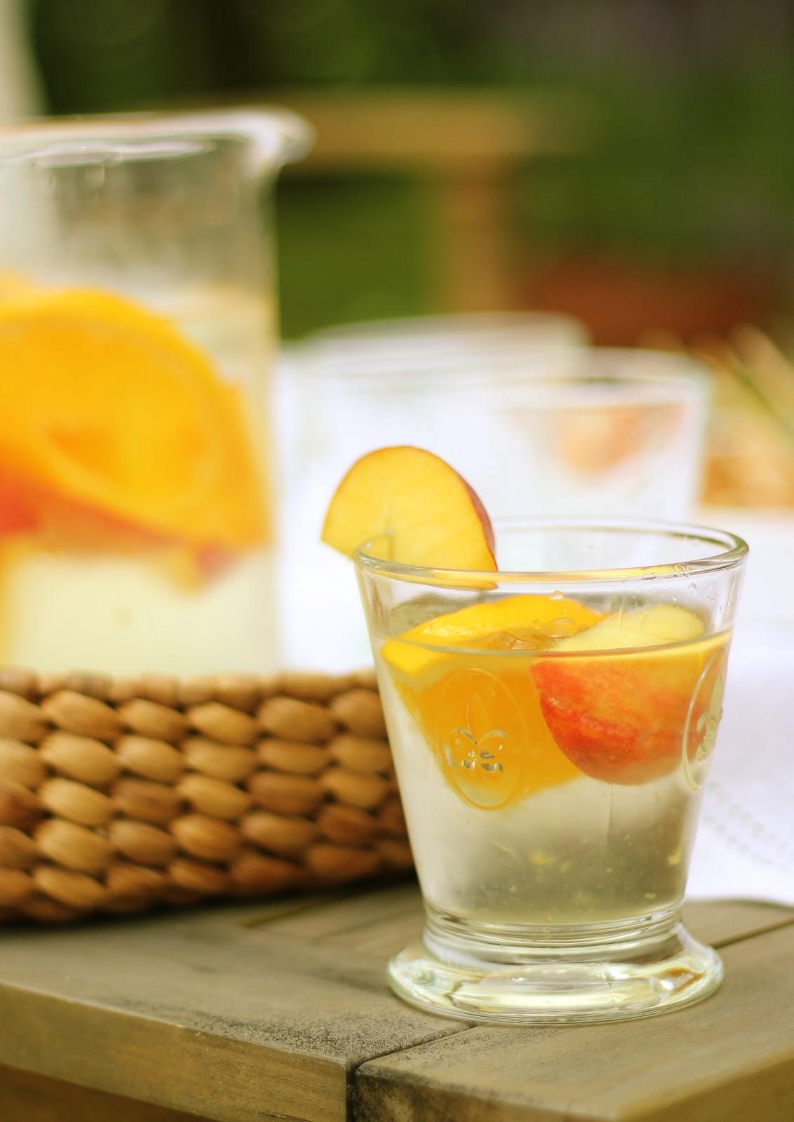 Jenny Steffens Hobick: White Peach Sangria