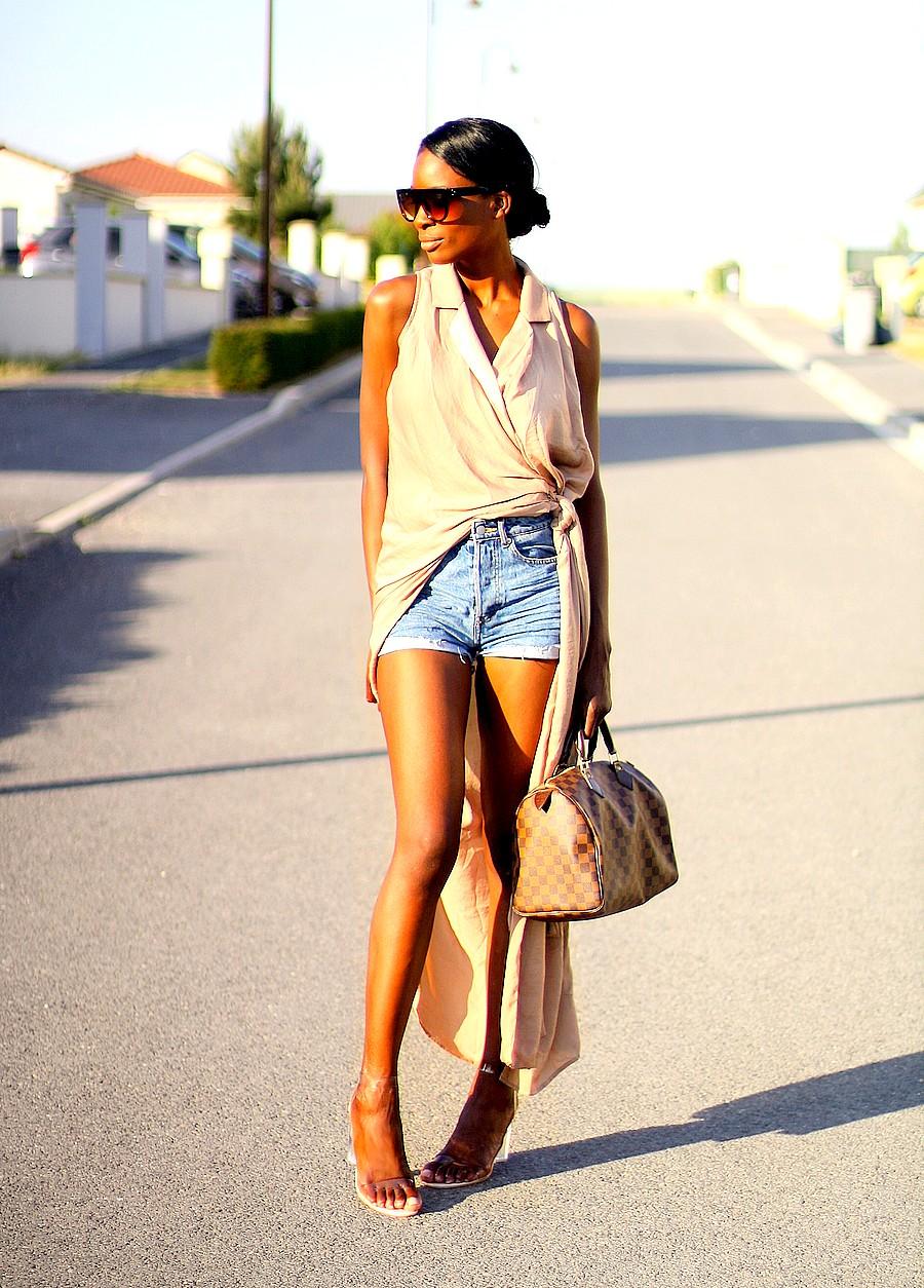 robe-longue-sac-speedy-louis-vuitton-short-en-jeans-look-chic-d'ete