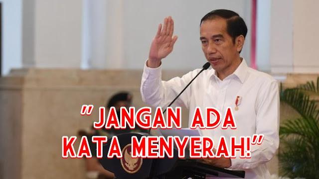 Jokowi ke Pedagang Rumahan: Insyaallah Omzet Agustus Naik