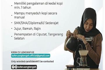 Lowongan Kerja Bandung Lady Barista Ruang Tengah