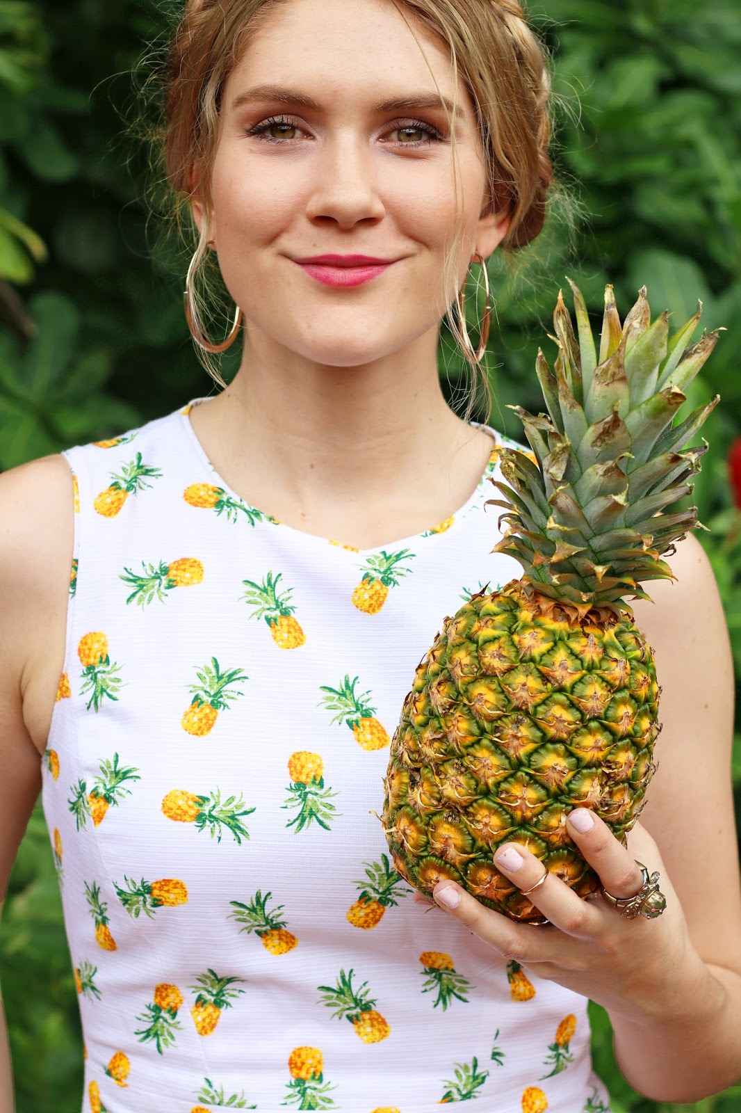 Super cute Pineapple dress for Summer