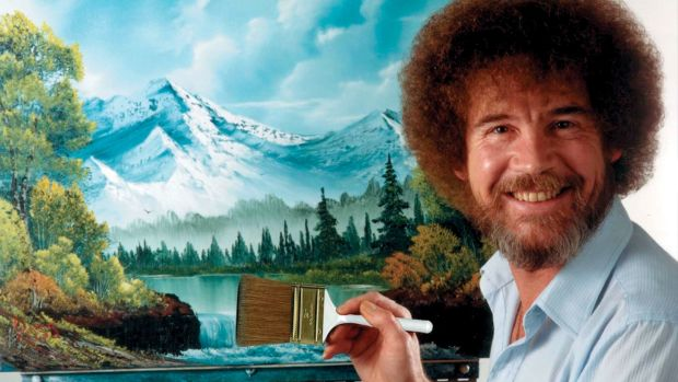 The Young Life Leader Blog Bob Ross Painting Game