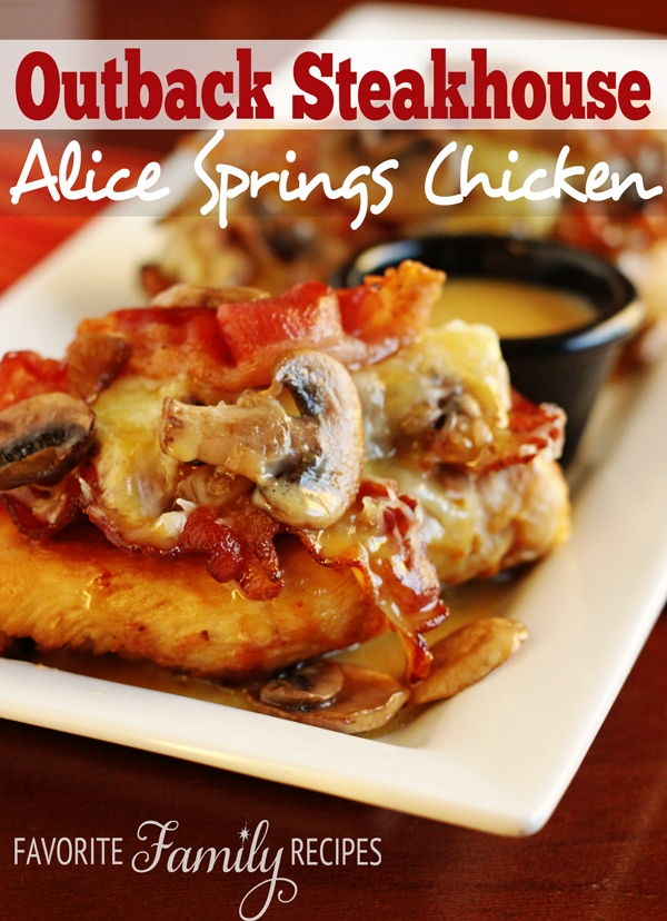 Alice Recipe Outback Springs Chicken