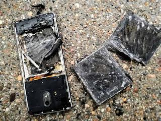 मोबाइल की बैटरी फटने के कारण