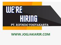 Lowongan Kerja Juli 2021 di PT Rifindo Yogyakarta