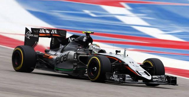 Kecepatan Maksimal Mobil F1