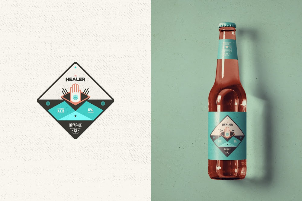 Australian brewing company on packaging of the world for Australian design firms