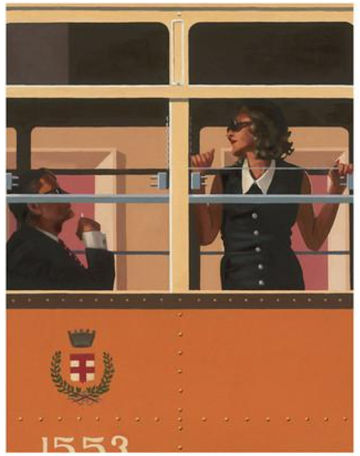 vignette; jack vettriano the look of love; zeste-deco.blogspot.com