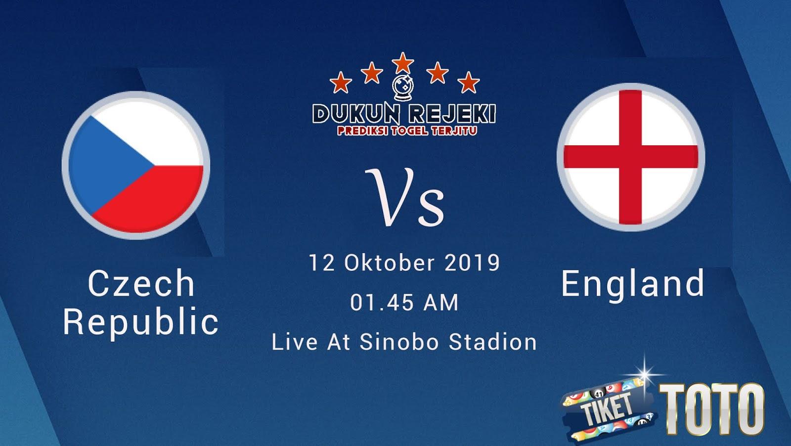 Prediksi Czech Republic Vs England 12 Oktober 2019