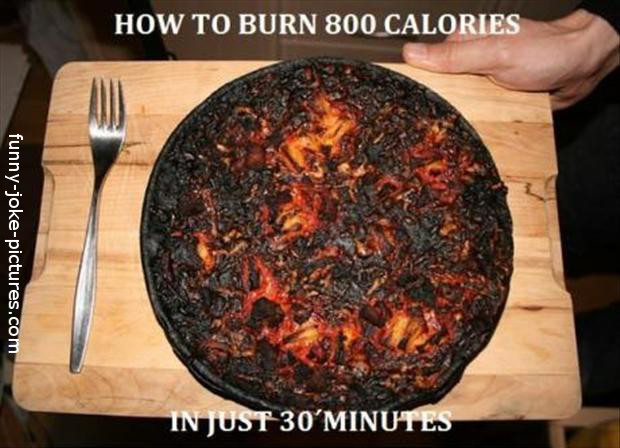 Funny Weightloss Calory Burn Tip Picture
