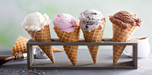 What was the first ice cream flavor?