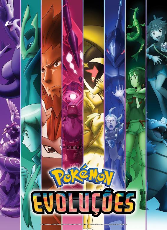Poster Pokémon Evoluções
