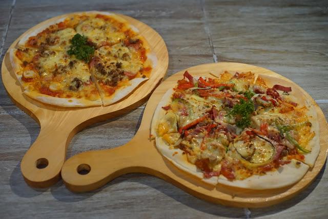 Pizza tipis ala Italia di Transera Hotel