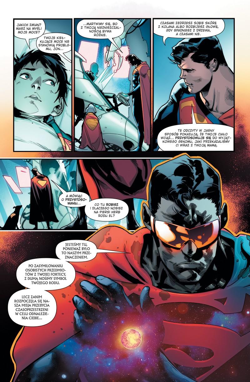 Superman tom 1: Syn Supermana przykładowa strona
