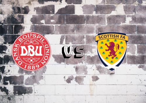 Dinamarca vs Escocia  Resumen