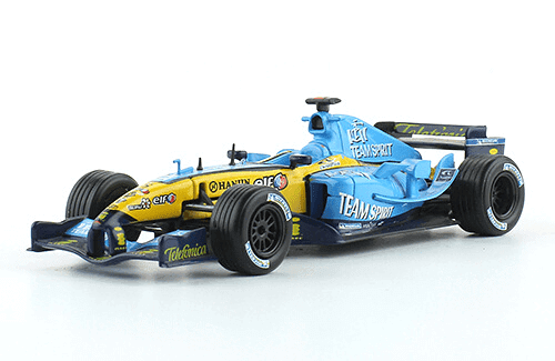Renault R25 2005 Fernando Alonso f1 the car collection