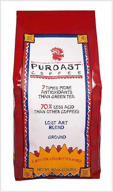 Organic low acid coffee.