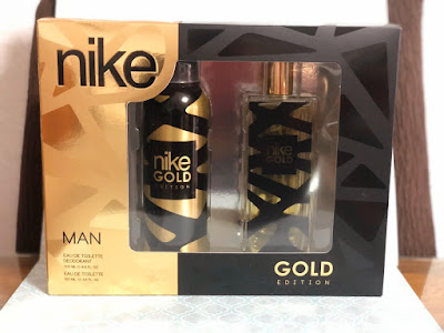NIKE ESTUCHE GOLD EDITION. EAU DE TOILETTE 100ML.