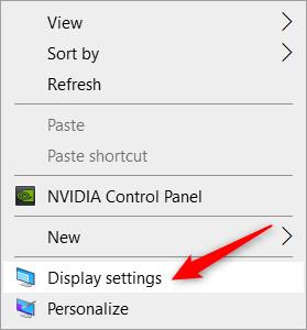 كيفية ارجاع شاشة الكمبيوتر الى وضعها الاصلي