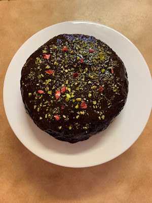 Nigella's Gluten Free Dark and Sumptuous Vegan Chocolate Cake