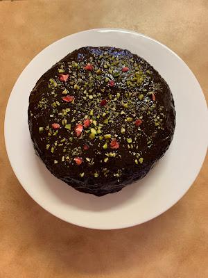 Nigella's Gluten Free Dark and Sumptuous Vegan Chocolate Cake