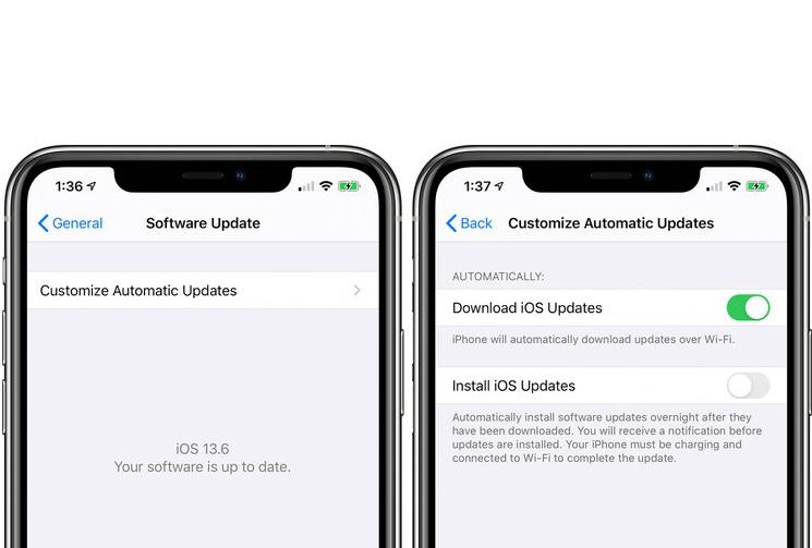 iOS 13.6 新功能:iPhone 可自訂 iOS 自動更新